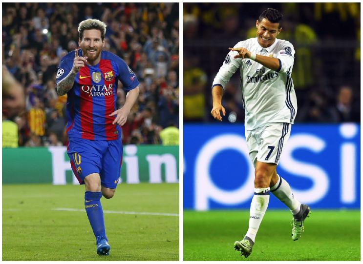 Lionel Messi y Cristiano Ronaldo buscan ganar el Balón de Oro. La rivalidad continúa. (Foto Prensa Libre: Hemeroteca PL).