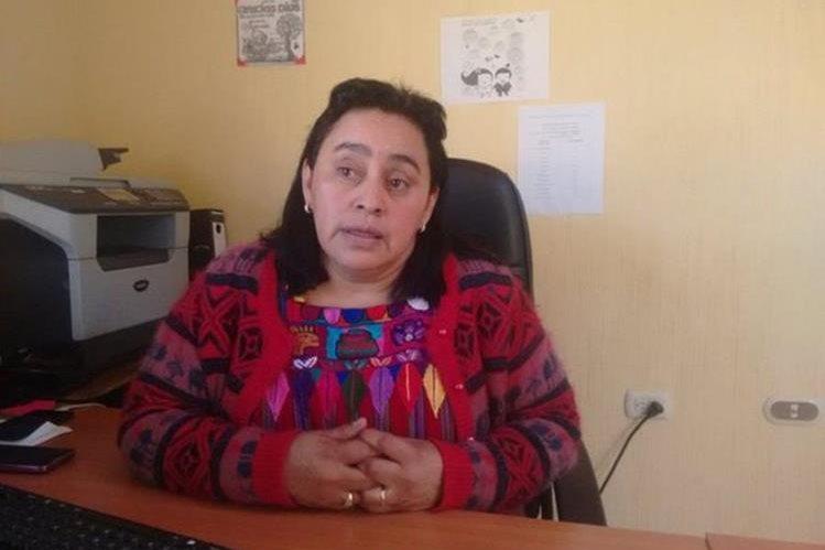 La delegada de la Demi en Quetzaltenango, Rosa Elvira Colop García, es señalada de anomalías. (Foto Prensa Libre: @stereo100xela)