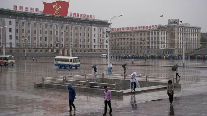 Un desertor dijo a la BBC que la situación en Corea del Norte está ahora más difícil para sus ciudadanos. GETTY IMAGES