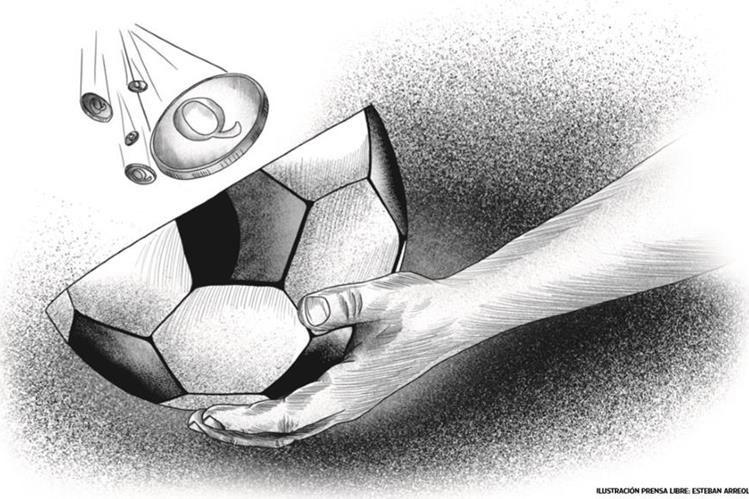La realidad de los futbolistas guatemaltecos no es como la mayoría piensan. (Foto Prensa Libre:)