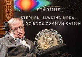 La humanidad tiene que atraverse a ir donde nadie ha ido nunca, asegura el científico. (Foto Prensa Libre: Starmus)