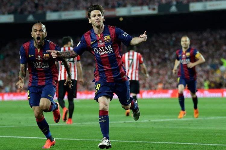 Leo Messi también se encuentra nominado para el Balón de Oro de la Fifa y el premio Puskas al mejor gol. (Foto Prensa Libre: Hemeroteca PL)