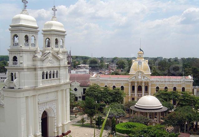 Los trabajos de restauración del Palacio de Retalhuleu se realizaron entre 2007 y 2009 recuperando su esplendor. (Foto: Hemeroteca PL)