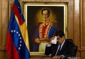 The Washington Post dedicó un duro editorial al Gobierno de Nicolás Maduro en Venezuela.(Foto Prensa Libre: EFE).