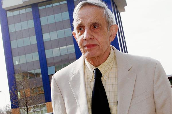 John Nash murió este domingo junto a su esposa Alicia. (Foto Prensa Libre. EFE)