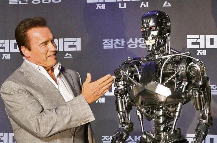 "Arnold Schwarzenegger es famoso por su participación en filmes como ""Terminator"". (Foto Prensa Libre: EFE)"