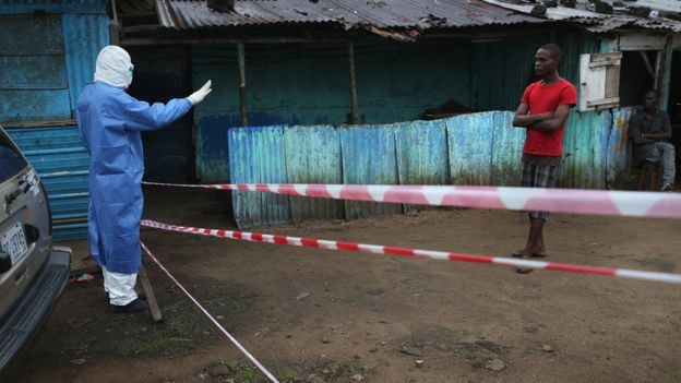 Grupos activistas critican que NYBC haya cancelado la ayuda en un momento en que Liberia pasaba por una crisis sanitaria. GETTY IMAGES