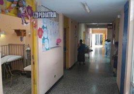 Área del Hospital Regional de Quiché, donde fue atendida la recién nacida. (Foto Prensa Libre: Óscar Figueroa).