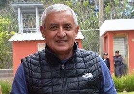 Fotografía de Otto Pérez Molina para la entrevista que concedió al diario español El Mundo. (Foto tomada del diario El Mundo)