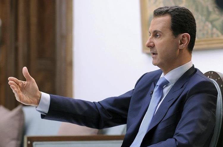 El presidente de Siria, Bachar al Asad, defiende que su gobierno no ha efectuado ataques con armas químicas.