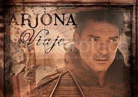 Portada del álbum Viaje de Ricardo Arjona lanzado al mercado el 29 de abril de 2014. (Foto: Hemeroteca PL)