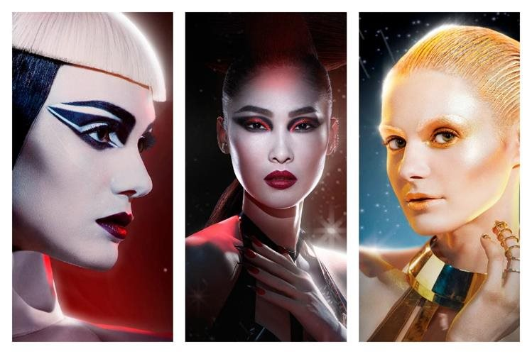 Firma de cosméticos pretende celebrar el glamur magnífico e imponente de cada look de Star Wars. (Foto Prensa Libre: EFE)