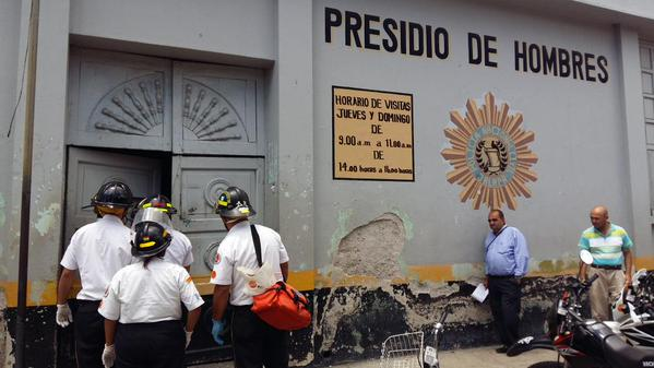 Motín en una cárcel de Guatemala causa seis muertos y varios heridos