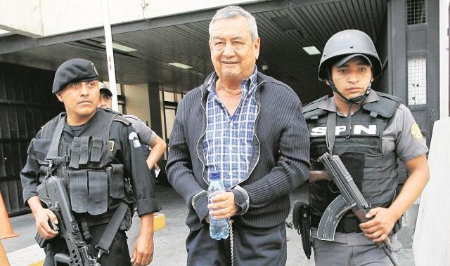 Waldemar Lorenzana Lima quedó en libertad en noviembre de 2015. (Foto Prensa Libre: Hemeroteca PL)