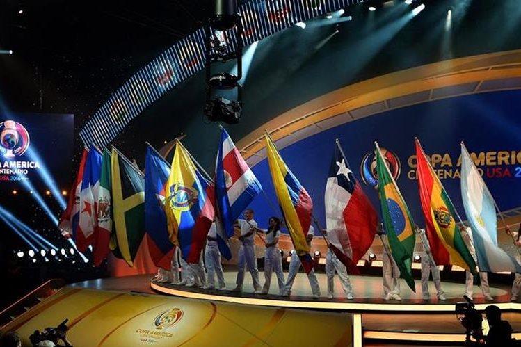 Doce países participarán en la Copa América Centenario en Estados Unidos. (Foto Redes Sociales).