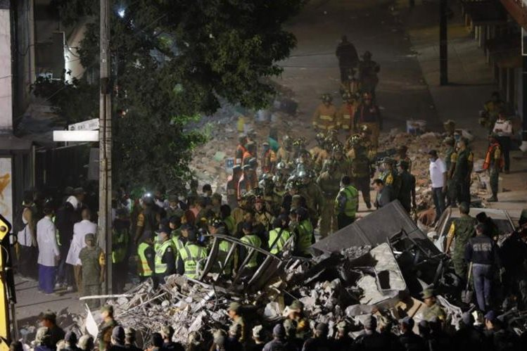 Terremoto en México deja más de 200 personas fallecidas