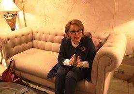 La costarricense Rebeca Grynspan habló en un hotel de la zona 10 acerca de la necesidad de coordinar estrategias entre los países contra el crimen. (Foto Prensa Libre: É. Ávila)