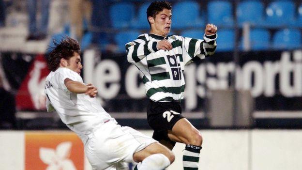 Cristiano Ronaldo también parecía predeterminado para grandes cosas desde muy joven.