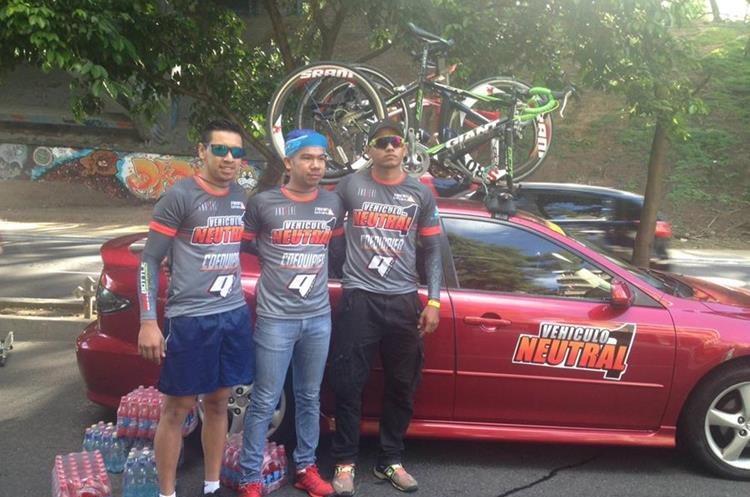 Los encargados que darán asistencia a los ciclistas durante toda la Vuelta.
