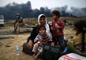 Destrozos, dolor y miles de desplazados dejó la ocupación.