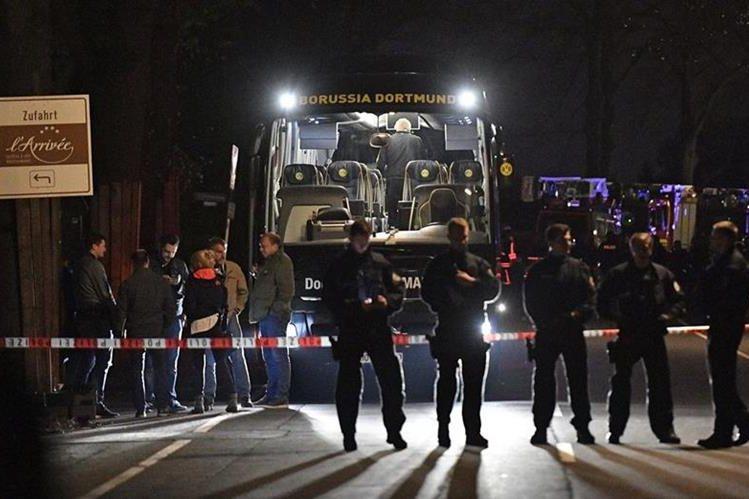 El drama reina en Dortmund después de lo sucedido con el club alemán. (Foto Prensa Libre: AFP)