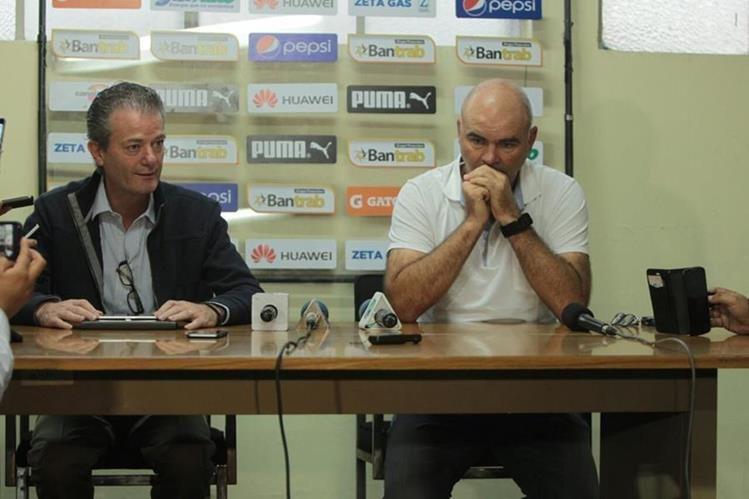 La salida de Comunicaciones en febrero ha sido uno de los momentos más tristes en la carrera de Iván Sopegno. (Foto Prensa Libre: Hemeroteca PL)