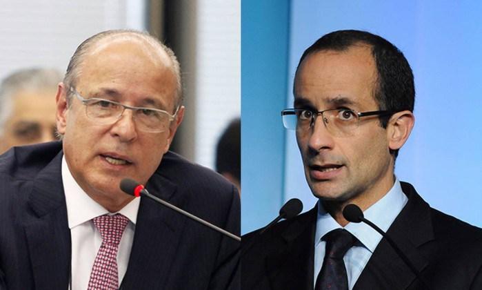 Otavio Azevedo (izquierda) y Marcelo Odebrecht (derecha), deberán enfrentar varios cargos ante la justicia brasileña. (Foto: lasprincipales.com).