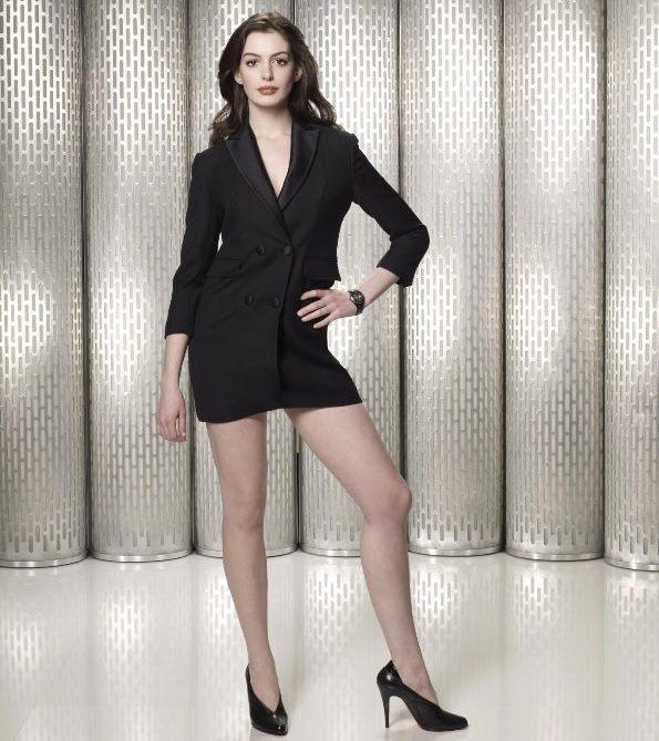 Así lucía Anne Hathaway antes de su embarazo. (Foto Prensa Libre: Hemeroteca PL)