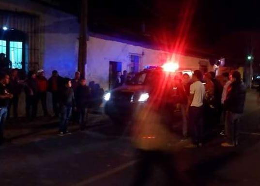 PNC llega al estadio para garantizar el orden público. (Foto: tomada de @elshavinho)