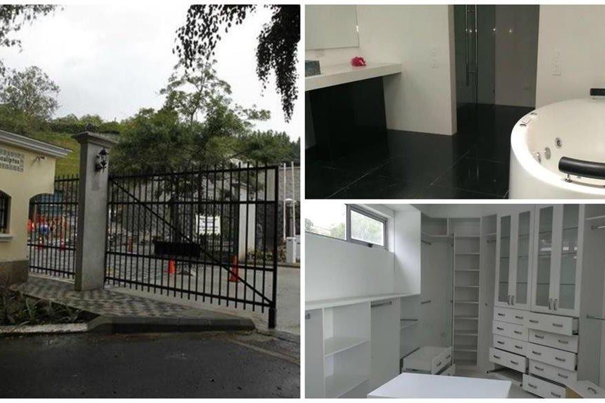 La lujosa residencia está valorada en unos Q19 millones. (Foto Prensa Libre: Hemeroteca PL)
