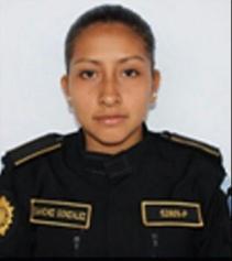 Candy Margoth Sánchez agente de la policía presuntamente asesinada por pandilleros.