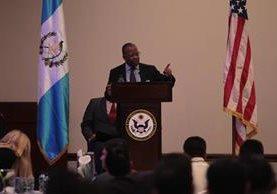 Todd Robinson, embajador de los Estados Unidos en Guatemala. (Foto Prensa Libre: HemerotecaPL)