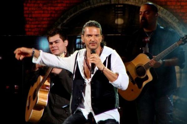 <p>Ricardo Arjona, cantautor guatemalteco (Foto Prensa Libre: Viña del Mar).</p>