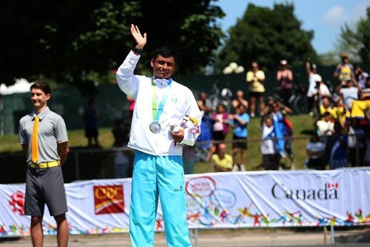 Barrondo ganó la medalla de plata este domingo. (Foto Prensa Libre: COG)