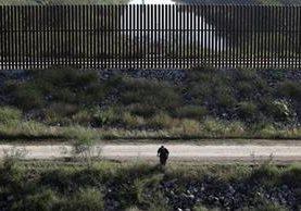 Un agente de la Aduana y Patrulla Fronteriza de los EE. UU. busca inmigrantes ilegales que pasan por la zona de Hidalgo, Texas. (Foto Prensa Libre: AP).