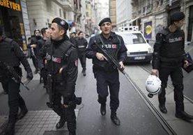 La capital de Turquía es vigilada por alerta de más atentados. (Foto Prensa Libre: AFP)