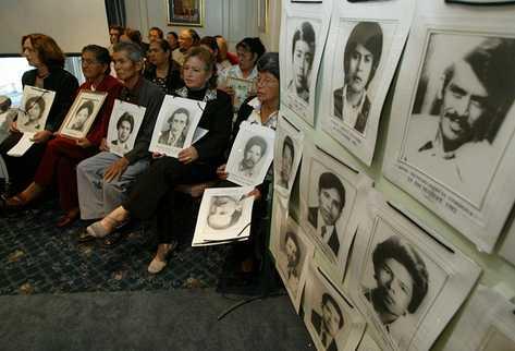 Víctimas del Diario Militar. (Foto Prensa Libre: Archivo)