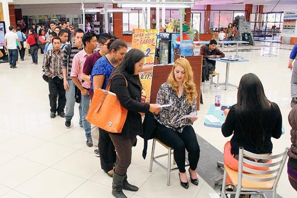 El evento se llevó a cabo en el centro comercial Paseo Las Américas. (Foto Prensa Libre: Alejandra Martínez)