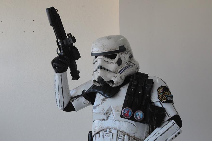 Gustavo Santizo será un Stormtroopers. (Foto Prensa Libre: Ángel Elías)