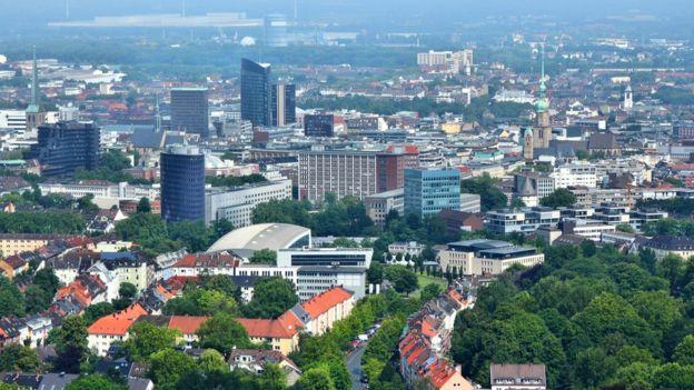 La ciudad de Duelmen se encuentra próxima de Dortmund (foto), en el oeste de Alemania. GETTY IMAGES