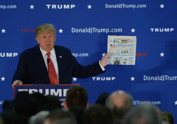 Donald Trump, precandidato republicano a la Presidencia de EE.UU.