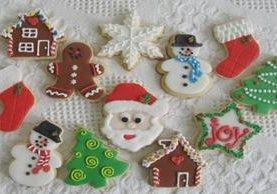 <p> Las galletas decoradas de Navidad no pueden faltar en las mesas guatemaltecas. (Foto Prensa Libre: Archivo)</p>