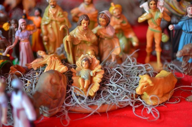 La Navidad guatemalteca es muy colorida. (Foto Prensa Libre: Hemeroteca PL)
