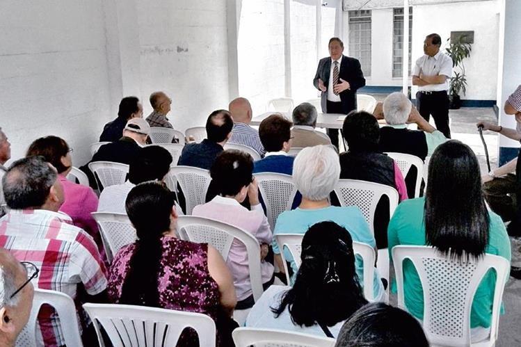 exempleados de Pan American participaron de la reunión. La compañía dejó de operar hace 24 años.