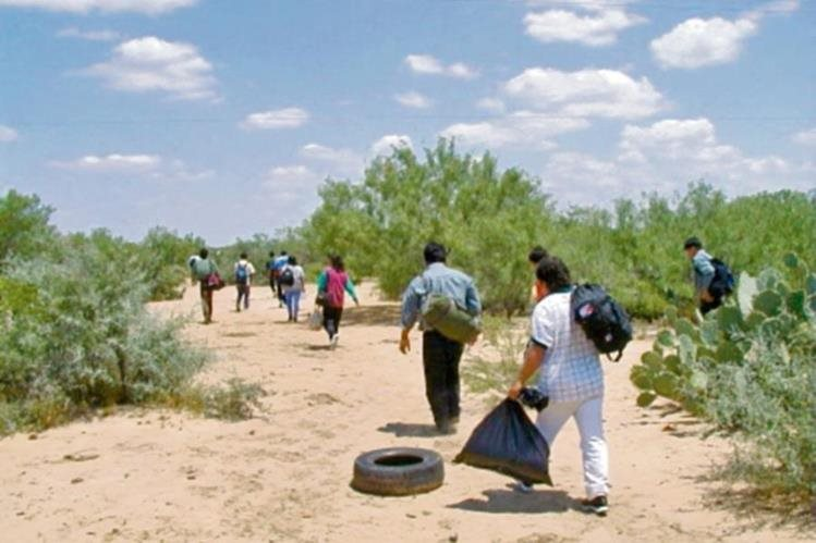 Los guatemaltecos migran principalmente del altiplano del país por falta de empleo. (Foto Prensa Libre: Hemeroteca PL)