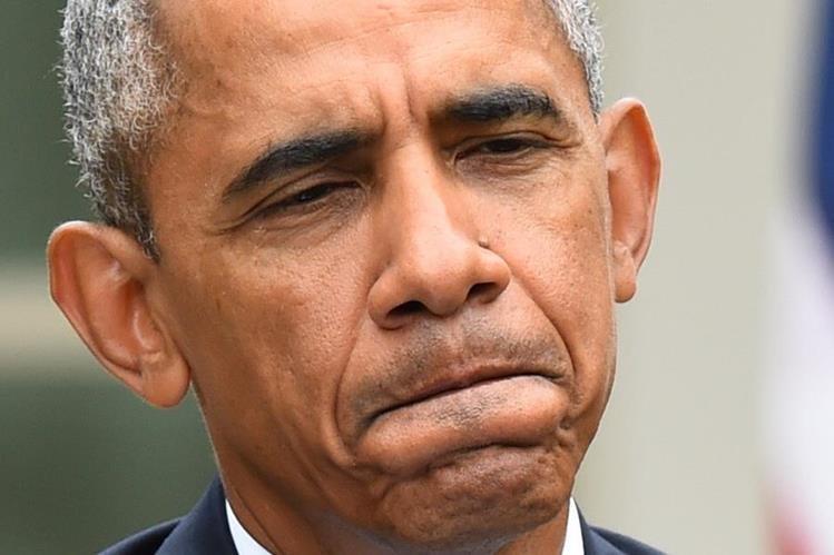 """""""Los congresistas deberían pensar sobre lo que el Papa"""" dijo Obama. (Foto Prensa Libre: EFE)."""