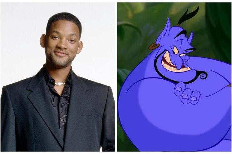 Will Smith pondrá su toque de humor y su talento como cantante al personaje del genio en la nueva versión de Aladdin. (Foto Prensa Libre: YouTube)