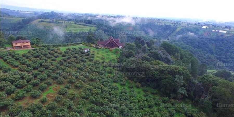 Finca que fue propiedad del expresidente Otto Pérez Molina en Chimaltenango. (Foto Prensa Libre: Hemeroteca PL)