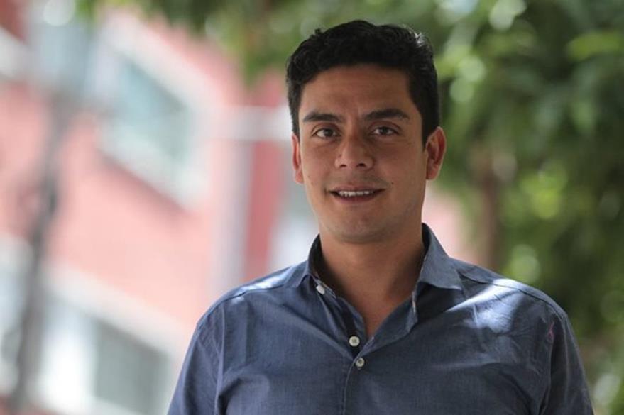 Jayro Bustamante asegura que Ixcanul es una cinta con un lenguaje universal (Foto Prensa Libre: Keneth Cruz)