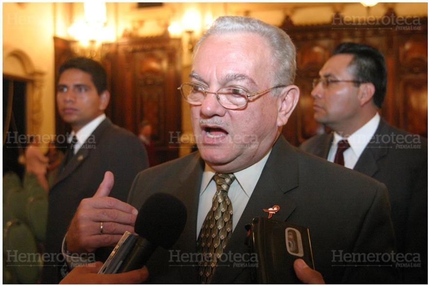 Eduardo Stein, vicepresidente de Guatemala en el 2006. (Foto: Hemeroteca PL)
